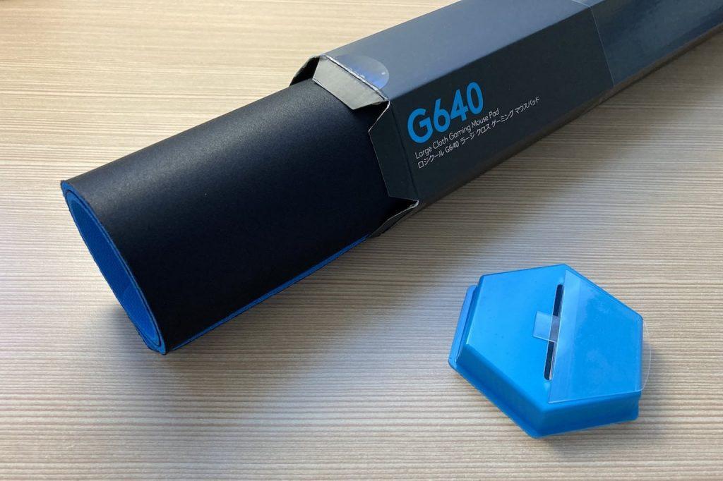 Logicool G640 を開封