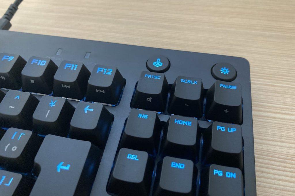 ボタンは2種類のみ